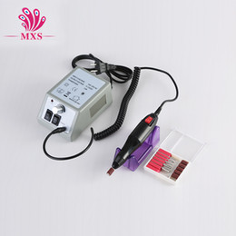 Wholesale Drill Nail Art Pedicure Drill Tips V V for choice Electric Manicure Toenail File Tool Grinding Machine
