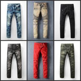 Discount Men Jeans Holes | 2016 Men Holes Straight Jeans on Sale ...
