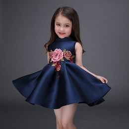 Discount Chinese Silk Dresses For Girls  2017 Chinese Silk ...