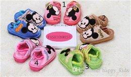 Wholesale Children Slipper Kids Slipper Children Slipper New Kids Cute Mickey and Warm Slipper Hot Boys Non slip and Soft Cartoon Slipper