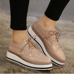 Discount Womens Platform Oxford Shoes   2017 Womens Platform ...