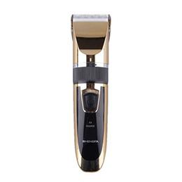 Wholesale Professional Men and Children Electric Quiet Hair Trimmer Clipper Rechargeable Ceramic Titanium Shaver Razor Cordless Adjustable Hair Clippe