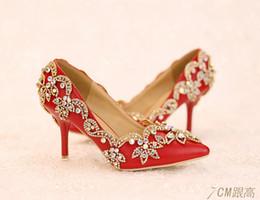 Red Rhinestone Bridal Heels Online | Red Rhinestone Bridal Heels ...