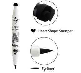 Wholesale Dinosaur Square YANQINA Liquid EyeLiner Waterproof eye liner Pen Long Lasting eye pencil Black hours Makeup Cosmetics High Quality