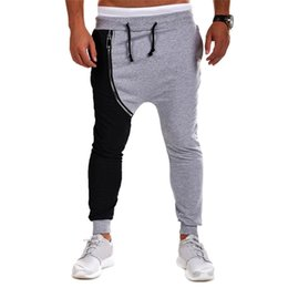 Discount Loose Capri Pants Men | 2017 White Capri Pants Loose Men ...