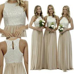 Discount Cream Bridesmaid Dresses | 2017 Cream White Bridesmaid ...