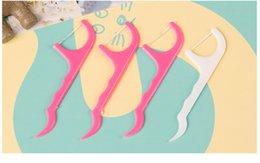 25pcs / mettre en dents New Haute Qualité Hygiène dentaire Floss Flosser Toothpick dents Oral Care Nettoyage WA0112 Utiles