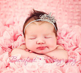 Hot Selling Crown Europe And America Children Headband Hair Band Multicolor Fine Sparkling Crystal Tiara Crown Baby