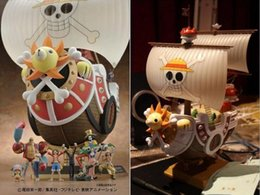 online shopping One Piece Thousand Sunny Pirate ship Model PVC Action Figure Toy Best Gift For Children cm