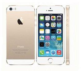 Yenilenmiş Orijinal Apple iPhone 5S Unlocked Telefon iOS 8 4.0
