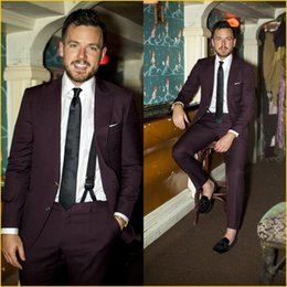 Dark Purple Suit Mens Online | Dark Purple Suit Mens for Sale