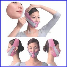 Wholesale 50pcs Thin Facial Mask Slimming Face Massage Double Chin Massager Health Care For Women
