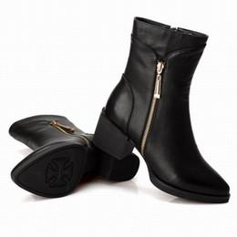 Discount Womens Ankle Boots Zipper | 2017 Womens Zipper Platform ...