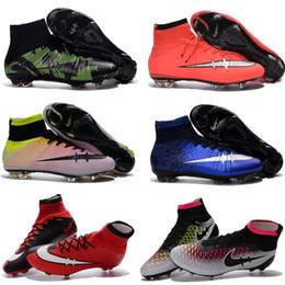 Zapatillas De Futbol Con Caña Para Niños