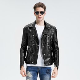 Short Leather Jacket Mens | Outdoor Jacket