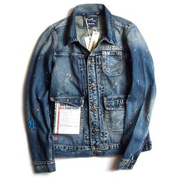 Discount Denim Jacket Male Fashion | 2017 Denim Jacket Male