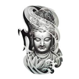 Wholesale New Buddha D Water Transfer Waterproof Temporary Tattoo Sticker Body Art Sexy Makeup