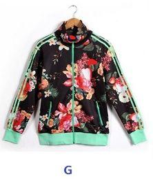 Wholesale Super cool women s new arrival jacket and hoodie female print long sleeve sports wear leisure slim sport suit outwear