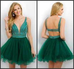 Emerald Green Homecoming Dresses Online | Emerald Green Short ...