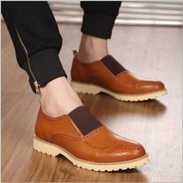 Discount Mens Brown Color Dress Shoes | 2017 Mens Brown Color ...