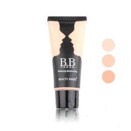 Wholesale 3colors BB Cream Make Up Base Foundation BrightSmooth blanchissant Crème hydratante ml visage de crème pour le visage à la crème d ombre