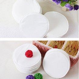 Wholesale Washable Breast Nursing Pads Flannel Reusable Comfy Cotton Breastfeeding L00089 SPDH