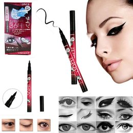 Wholesale Hot Sales Liquid Eyeliner Black Waterproof Pen Liquid Eyeliners Eye Liner Pencil Make Up Eyeliner Beauty Comestics MU
