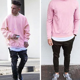 Discount Pink Grey Sweatshirts | 2017 Pink Grey Sweatshirts on ...