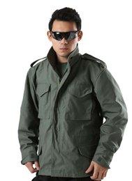 Wholesale Estilo militar M65 Alpha chaqueta con capucha chaquetas para los hombres Ejército de EE UU abrigo al aire libre