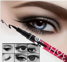 Wholesale 36H Waterproof Liquid Black Eyeliner Pencil Skid Resistant Eye liner Pen For Cosmetic Makeup Home Use Quality Fast Shippment