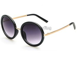 glasses shop vintage round big frame sunglasses black classic eyewear europe style gradient cheap wholesale eyeglasses mix colors