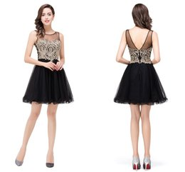 Discount Black Cocktail Dresses Under 50  2017 Black Cocktail ...