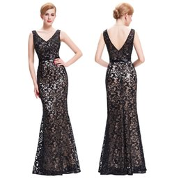 Wholesale Evening Dresses Long New Arrival Cheap Formal Dresses Evening Sexy V Neck Mermaid Evening Gowns Prom Dress Cocktail Party Gown ST000034
