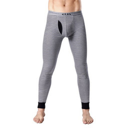 Discount Striped Thermal Underwear | 2017 Striped Thermal ...