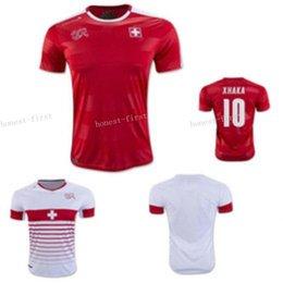 Soccer jersey uniform national team swiss football shirts 10 shaqiri