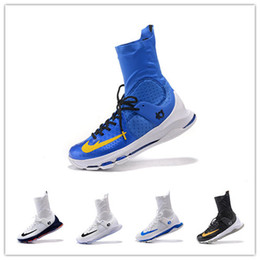 Kevin Durant KD 8 Elite Home White On Court Black Gold Wolf Grey Men Basketball Shoes Sneakers High-quality KD8 Sports Shoes 7-12