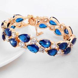 Wholesale 2016 Luxury Charm Bridal Bracelets Rhinestones Wristband For Brides Wedding Bridal Prom Girls Dress s Accessories jewelry Cheap