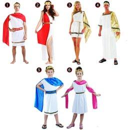Wholesale Ladies Men Women Boy Girl Greek Roman Grecian Goddess God Fancy Dress Outfit Adult Costume Cosplay Masquerade Party Ball