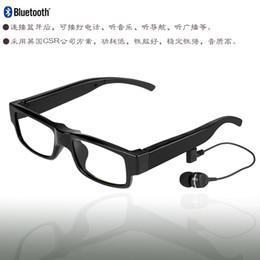 verres intelligents de conduite Lunettes Bluetooth Stereo Headset Musique lunettes sans fil mains libres Avec MicMusic Apple Samsung Tous les téléphones portables