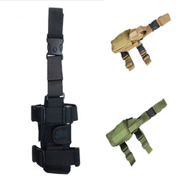 Wholesale 3 Couleur Camo Style taille Goutte Jambe Sac Moto Dirt Bike vélo Cuisse Bum Support Pack FBA Equipment Package Voyage E600E