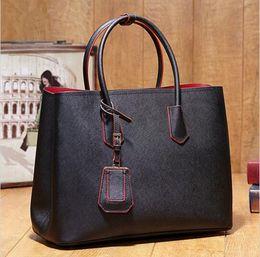 2017 deep shop Famous Designer P Brand Bags Women Leather Handbags Genuine Leather Shopping Shoulder Crossbody Bags For Women Shopping Bag Bolsas Feminina