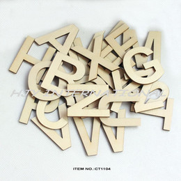 26letters78pcs lot 50mm wooden alphabet letters set unfinished unpainted wood letter 2 ct1104