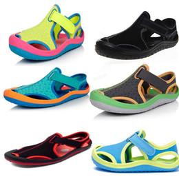 Wholesale 2016 new brand Summer Children s Sandals Slip resistant Wear resistant sport Sandal boys shoe Sneakers Slippers free ship