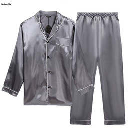 Discount Mens Polyester Pajamas | 2017 Mens Polyester Pajamas on ...