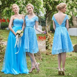 Discount ocean blue lace dress 2016 ocean blue lace for Ocean blue wedding dress