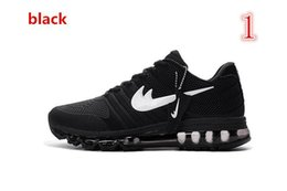 Discount Shoes Run Air Max new Cheap air 2017 Men running shoes Hot selling Original quality maxes 2017 cushion sneaker for mens Newest release sneaker size Eur 40-47
