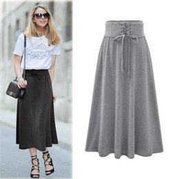 Wholesale long skirt for women The European leg of the new spring and summer big European and American women s clothing in the long section of pu
