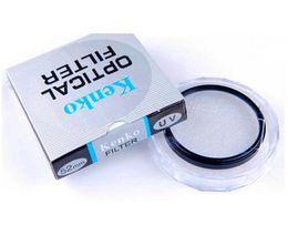 Kenko Filtro UV 49MM los 52MM 55MM 58MM los 62MM 67MM 72MM 77MM 82MM Precio de fábrica al por mayor para Canon Nikon Sony Cámara Accesorios