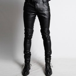 Faux Leather Skinny Jeans Men Online  Faux Leather Skinny Jeans