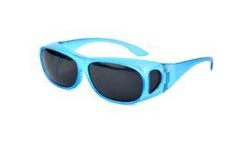 Alta calidad unisex gafas de sol polarizadas nuevo enganche gafas con lentes de diseño de la miopía UV400 gafas de sol de colores 9 protección para los ojos libres de DHL
